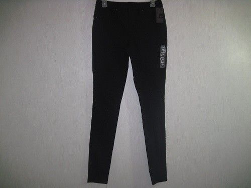 Mossimo Womens Jegging Size 2 L Mid-Rise Curvy Super Stretch Black New With Tags #Mossimo #Jeggings