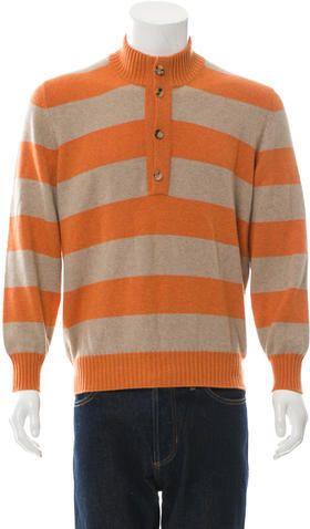 Brunello Cucinelli Cashmere Striped Sweater