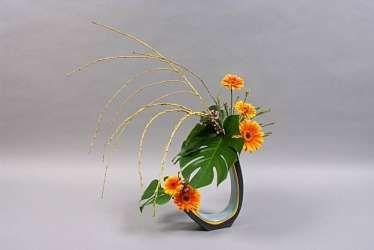 Ikebana International flower show in San Francisco