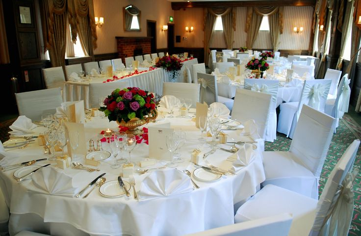 Wedding reception in our Hampshire Suite