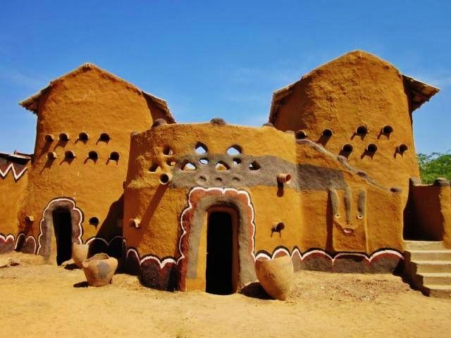 Tchad mus e de gaoui un exemple type de l architecture for Architecture africaine