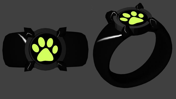 Chat Noir Ring by Foxterale