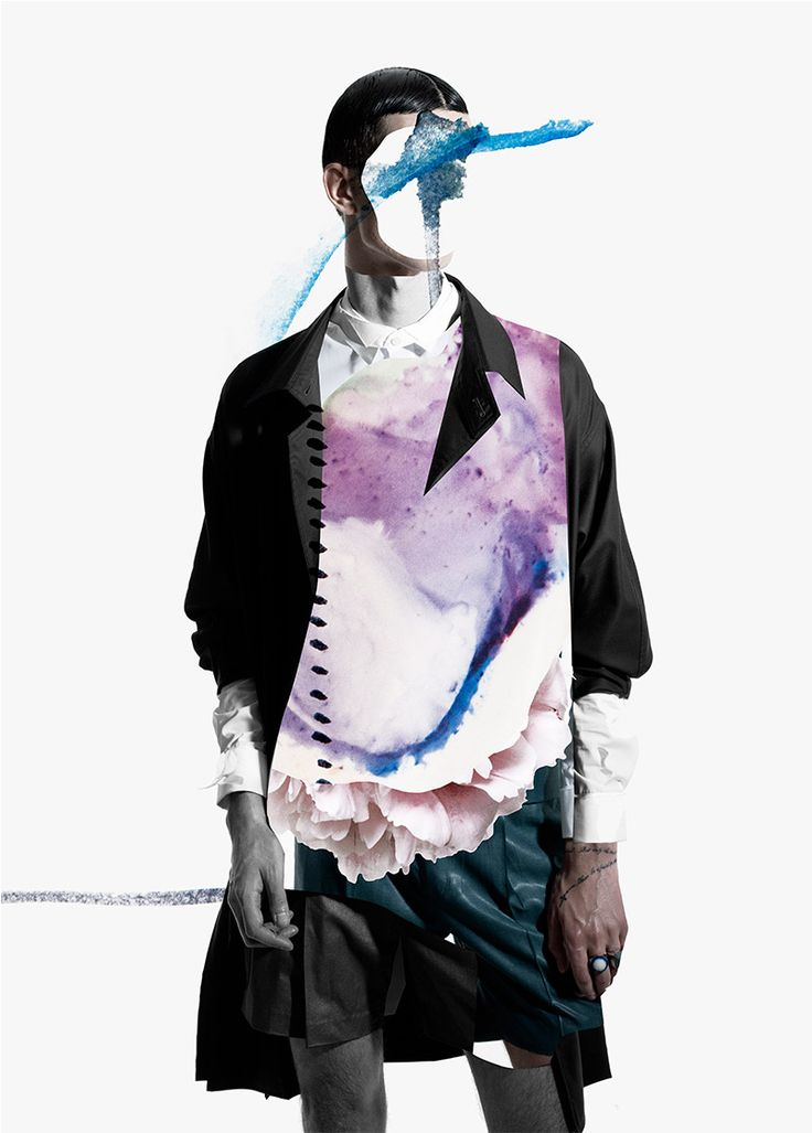 sixlee_ernesto-artillo2 Mixed media in fashion has been a huge editorial trend, especially in the last year, and it's always great to see labels adapt these ideas into their branding. Up and coming designer SixLee is one such brand taking the mixed media cue, and teamed up with collage artist Ernesto Artillo for their Spring/Summer 2014 lookbook.