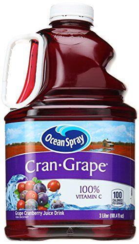 Ocean Spray Cranberry Grape Juice, 101.4 oz -- Click on the image for additional details.