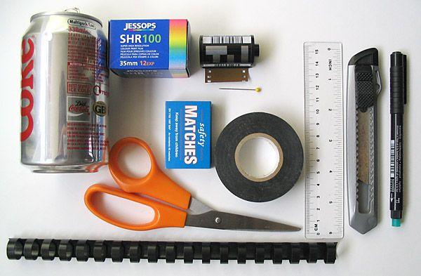 Transformer une boite d'allumettes en sténopé