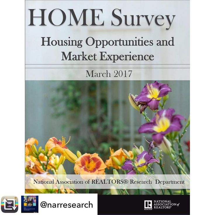 Repost from @narresearch - NAR HOME Survey: Economic Financial Optimism Surges; Renters Lukewarm About Buying   WASHINGTON (March 15 2017)  Multiple years of uninterrupted job gains and hope that the best is yet to come in 2017 are igniting consumer confidence across the country and especially in rural and middle America according to new consumer survey findings from the National Association of Realtors. The survey additionally found a growing disparity among renters who think its a good…
