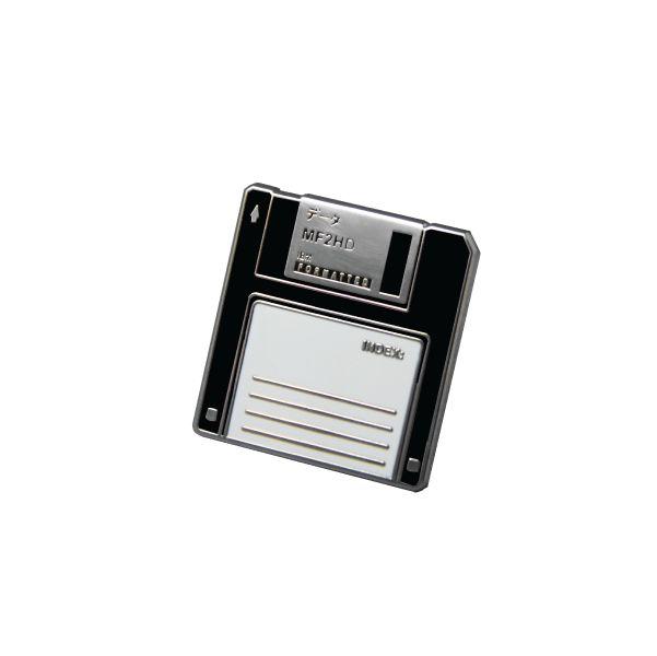 データ Floppy Disk enamel pin (4 colors available)
