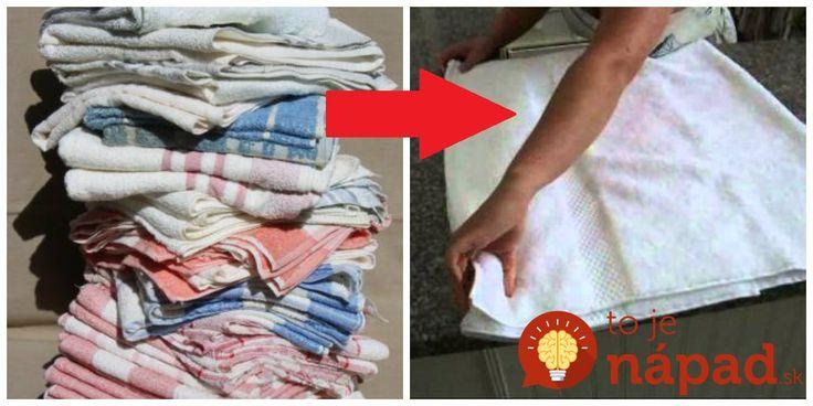 Bývalá chyžná z hotely Joane našla úžasný spôsob, ako využiť staré uteráky a utierky, ktoré sa v hotely míňajú doslova raketovou rýchlosťou.