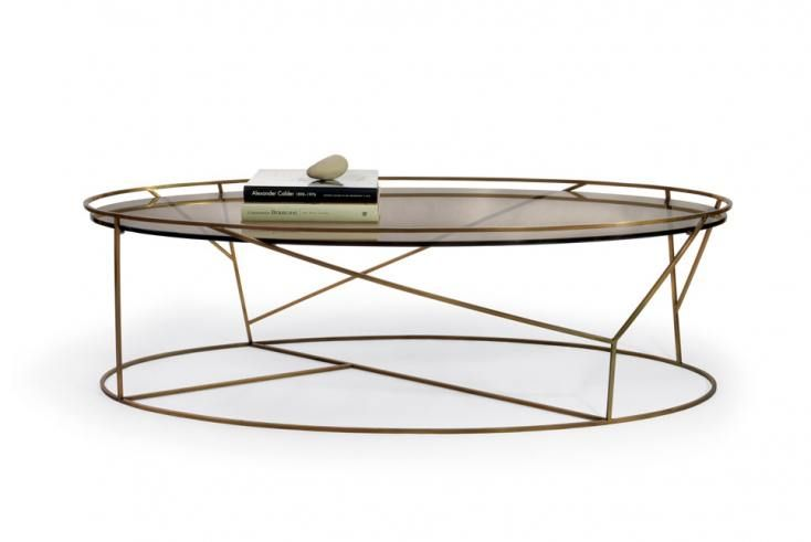 Coffee table thicket oval table sala comedor pinterest for How to decorate an oval coffee table