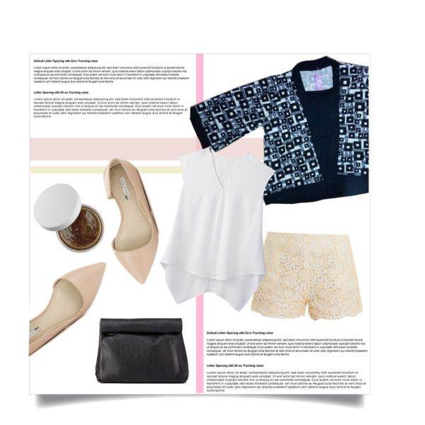 A fashion look from August 2015 featuring Paul & Joe shorts, BCBGeneration flats and Charlotte Russe clutches. Browse and shop related looks.