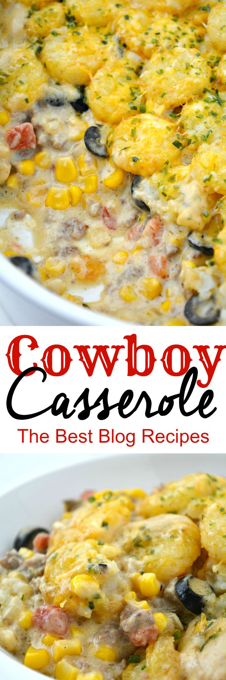 Cowboy Casserole Recipe This was good! Rotel added a little too much spice for kids but we all liked it!will make again!