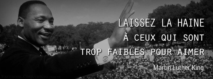 citations martin luther king anglais | Citation Martin Luther king- Laissez la haine - Citation Martin Luther ...