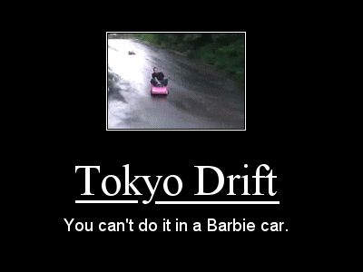 Tokyo Drift in a Barbie Car   Know Your Meme