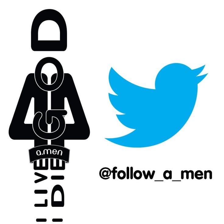 Follow a.men On Twitter!  #TAGAMEN