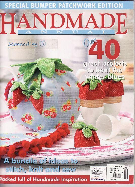 Handmade numéro 40 Magazine complet en anglais