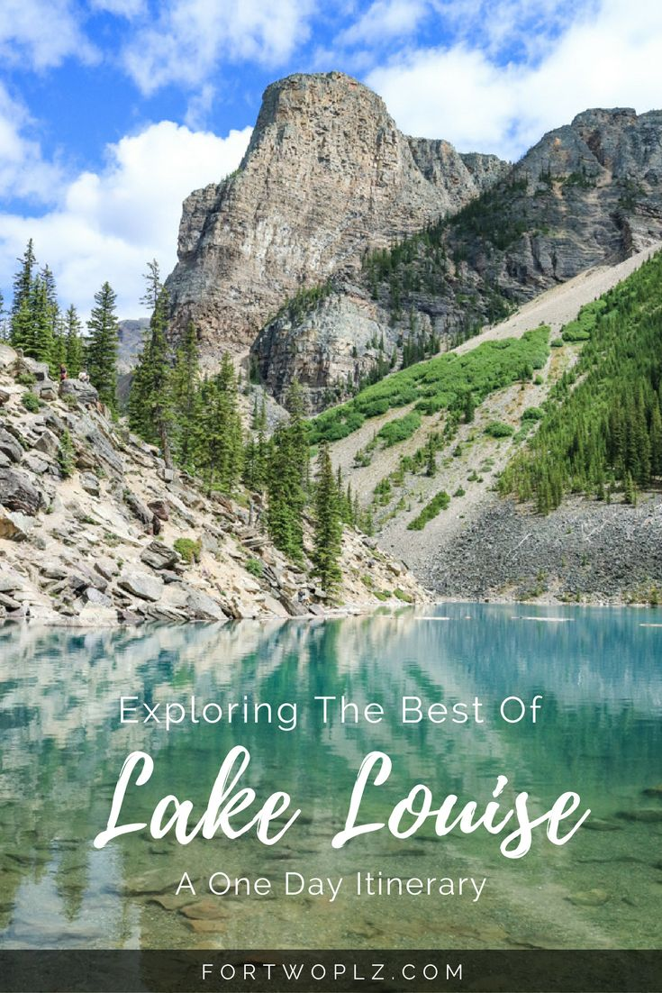 Visiting Lake Louise in the summer, but only has one day? Here's a list of must-see attractions to help you explore Lake Louise in 24 hours!