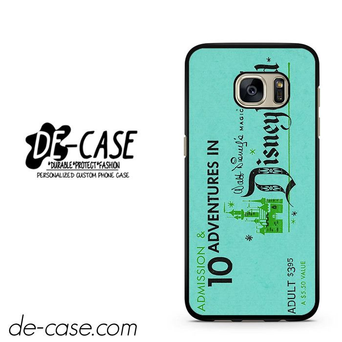 Disneyland Ticket DEAL-3461 Samsung Phonecase Cover For Samsung Galaxy S7 / S7 Edge
