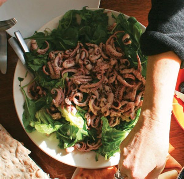 Marinated Octopus Salad Recipe | SAVEUR