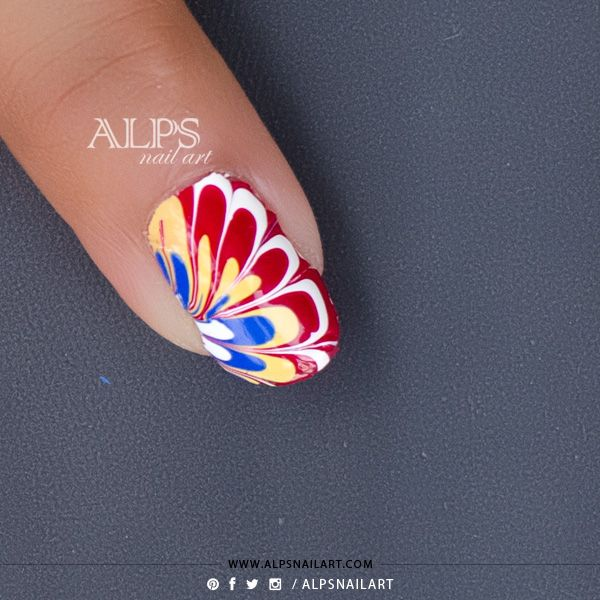 Best 25+ Water Marble Nails Ideas On Pinterest