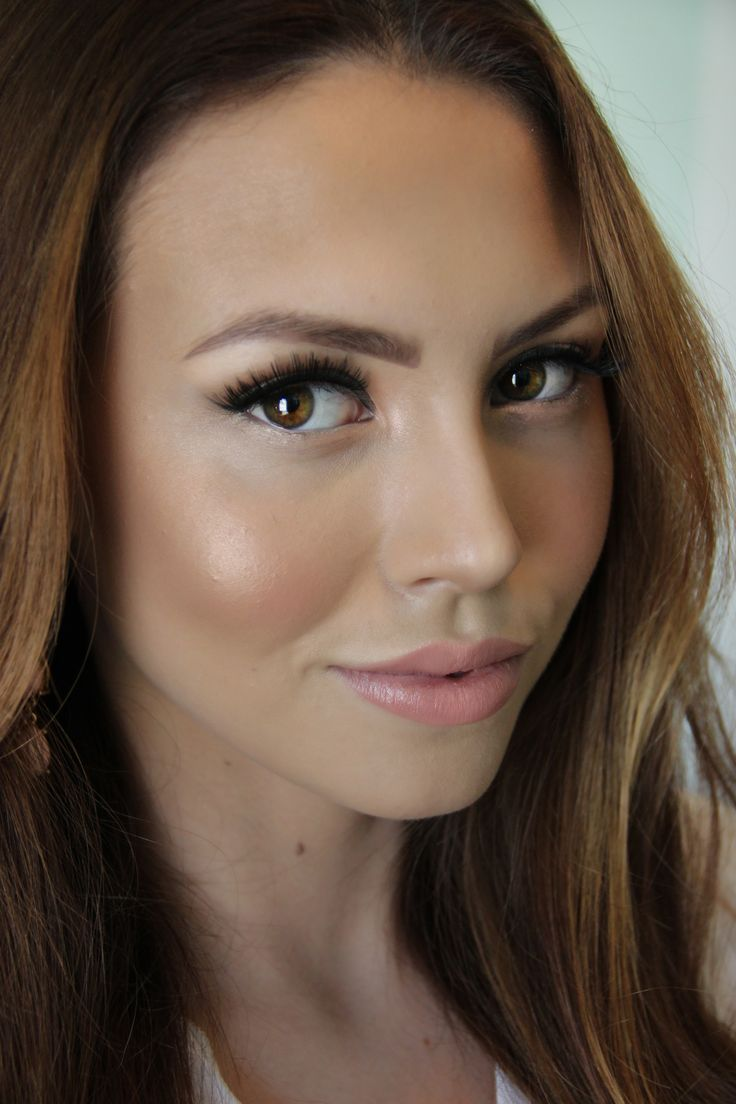 Beautiful every day makeup tutorial! Love the Mac 'Cream Cup' lipstick & the Lashes.