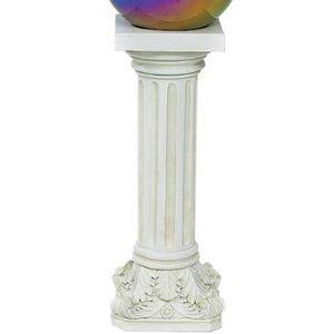 Reversible Column Gazing Ball Stand, 21-Inch