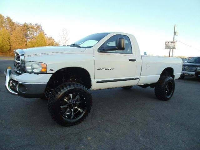 4X4 Trucks For Sale In Va >> WWW.EMAUTOS.COM LIFTED 2005 Dodge Ram Pickup 2500 SLT Regular Cab 4x4 CUMMINS DIESEL TRUCK FOR ...