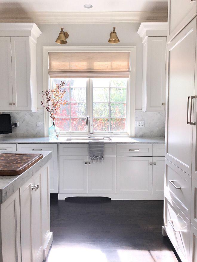 Benjamin Moore Intense White Benjamin Moore Paint Colors Kitchen Paint Color Cabinet Paint Color B White Kitchen Remodeling White Modern Kitchen Kitchen Design