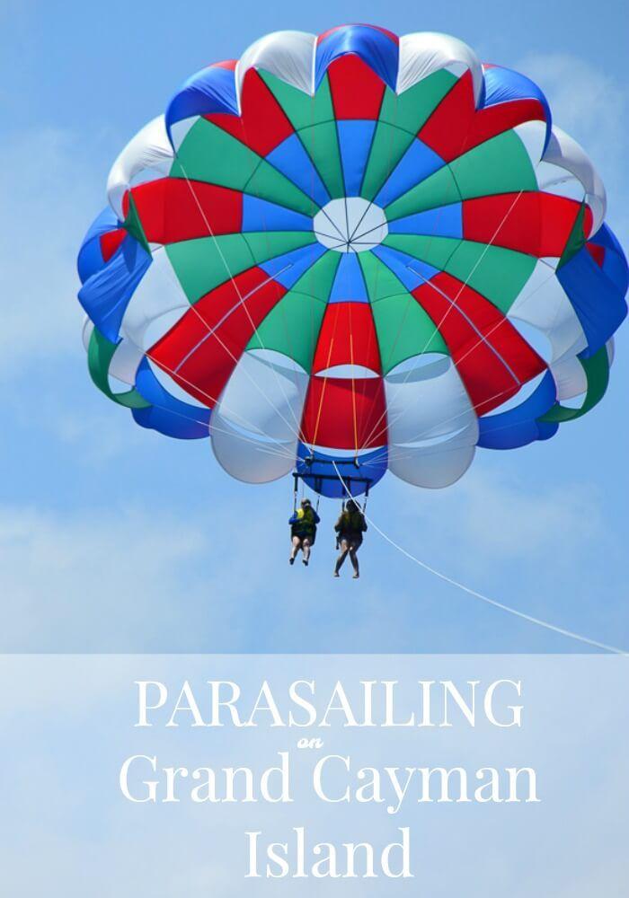 Parasailing | Grand Cayman Island, Caribbean | Adventure Travel