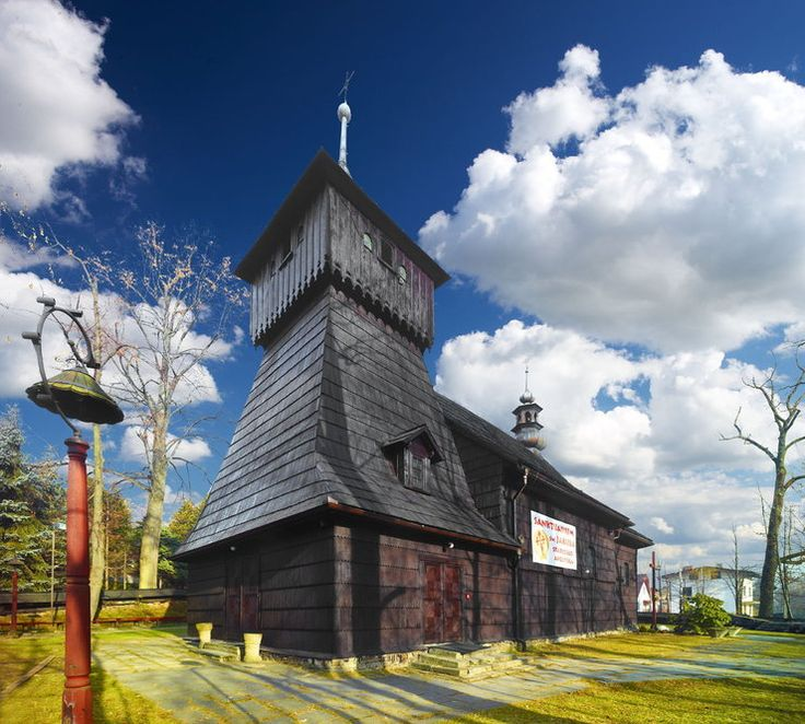 Szczyrk- sanktuarium św. Jakuba Starszego Apostoła, Poland