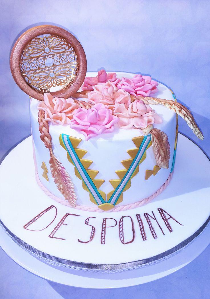 #dreamcatcher #fondant #fondantcakes #customhomemadecakes