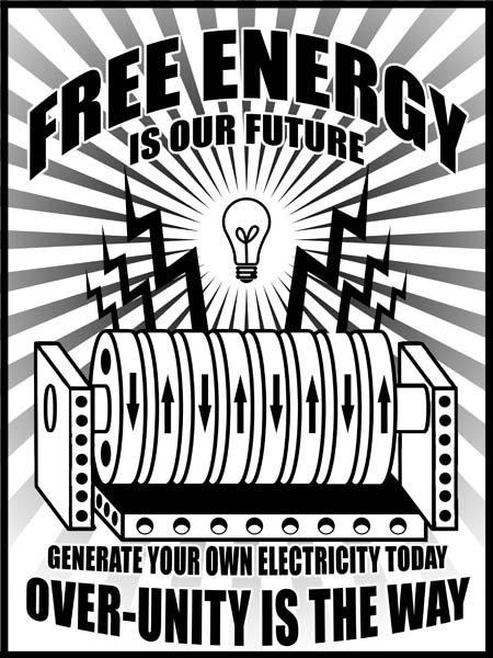 Nikola Tesla Influenced This Poster