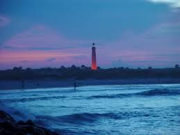 The Ponce Inlet Lighthouse.