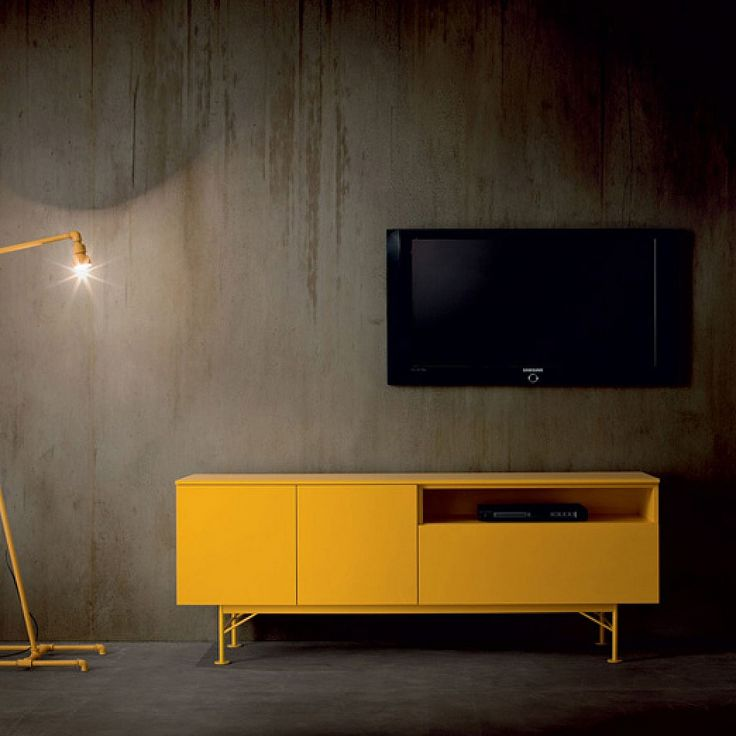 Contemporary Italian TV stand Fashion by Dall'Agnese