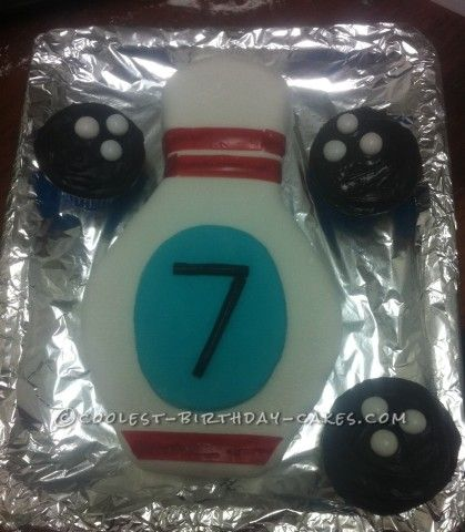 Bowling Ball That Smells Like Birthday Cake