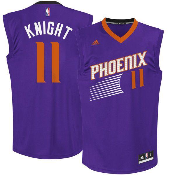 Brandon Knight Phoenix Suns adidas Team Color Replica Jersey - Purple - $69.99