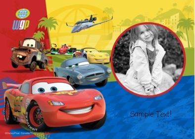 Cars Disney - Photo Card: Photos, App, Designer, Layout, Photo Card, Cars Disney, Kids, Cards, Characters