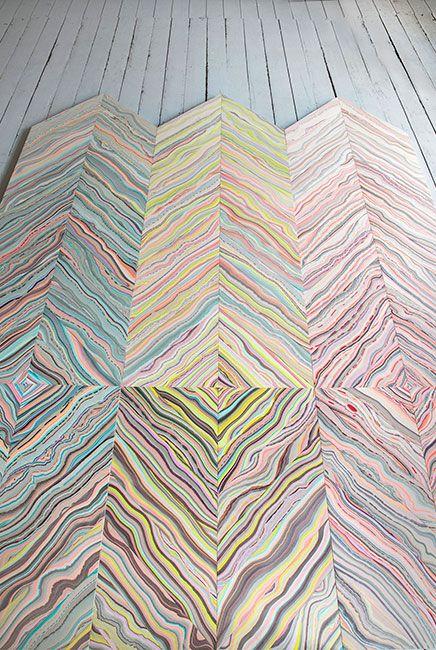 REFRACTION Wood Floor by Pernille Snedker Hansen