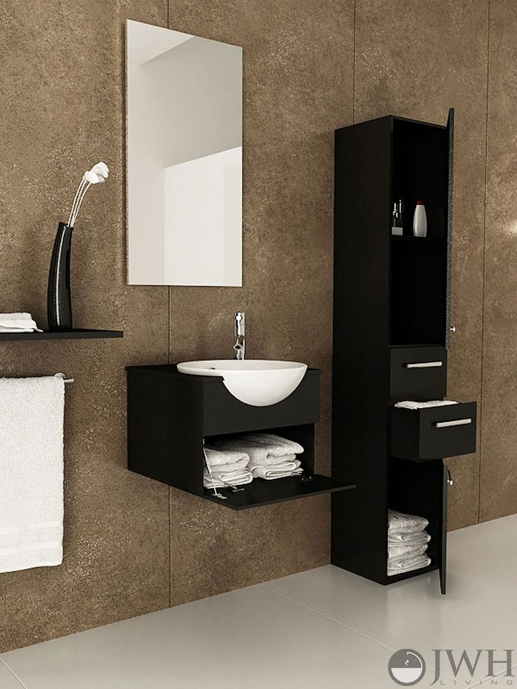 16 best floating bathroom vanities images on pinterest - Bathroom vanities for small bathrooms ...