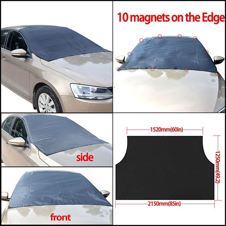 Magnetic Windshield Cover FOR SUV Car Truck RVS  Ice Snow Sun Shade SUV Car Dust #FEENM