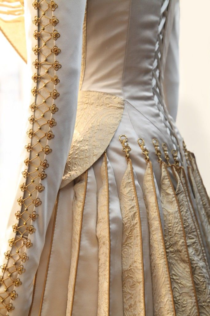 "Detail from Charlize Theron's wedding dress in ""Snow White and the huntsman"""