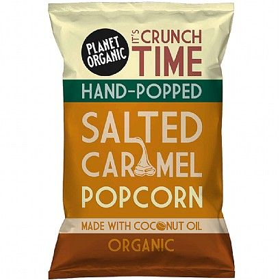 Planet Organic Salted Caramel Popcorn (25g)