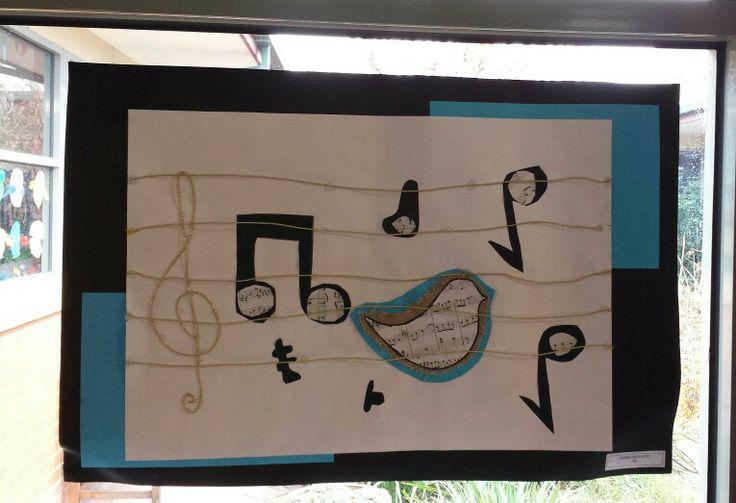 Musical birds by grade four.