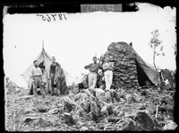 Miner's camp, Hill End 1872