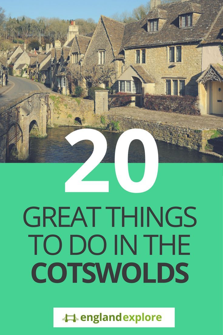 England travel: The Cotswolds epitomise the very best of the English countryside: gorgeous villages of honey-coloured stone nestling in the hills, surrounded by green fields that have been farmed for centuries. Here's our list of twenty of the best places to enjoy if you're lucky enough to find yourself in this beautiful part of the country.