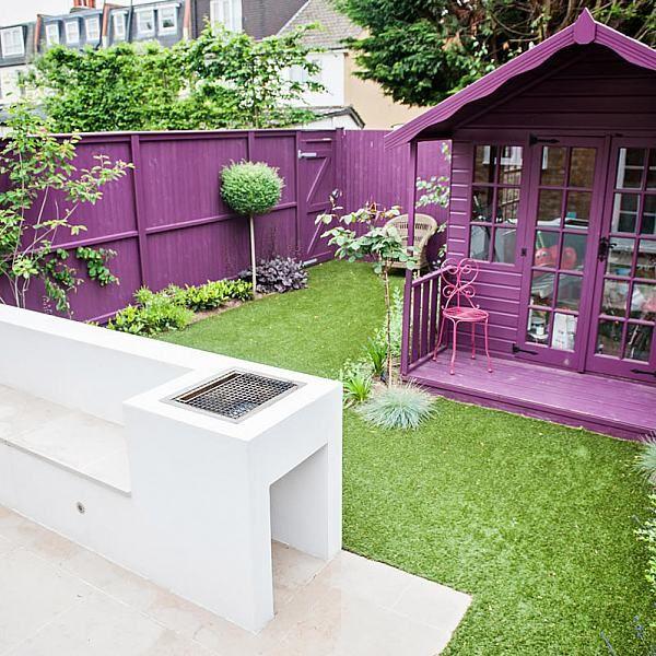Small Funky Garden Design