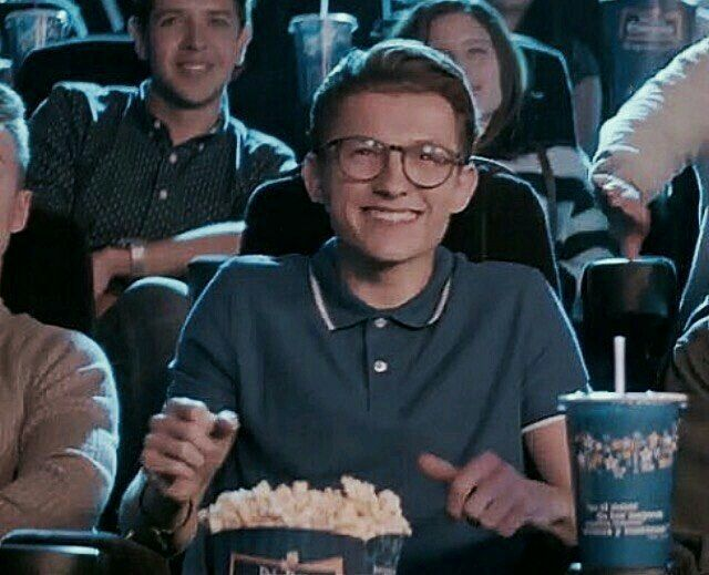 Me when I'm watching the new Spider-Man Homecoming