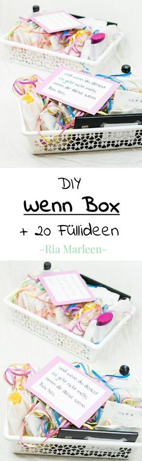 DIY When box tinker – nice gift idea for any occasion