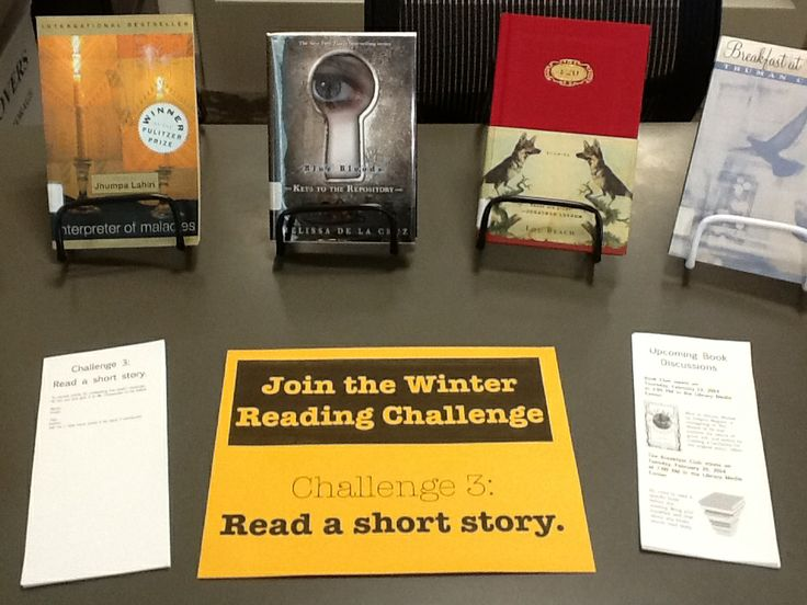 Challenge 3: Read a short story.