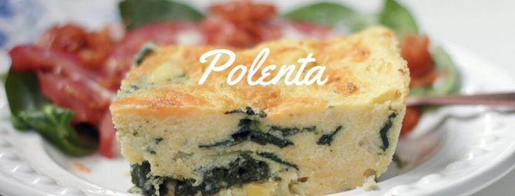 Polenta and Spinach Dish