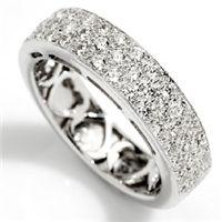 Cuore | Luksuriøs og glitrende vakker diamantring - Cuore Diamantring 0,83ct tw/vs